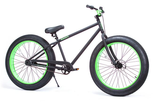 FAT BIKE 26インチ - BRONX ファットバイク 26インチ [マットブラック × ライム]