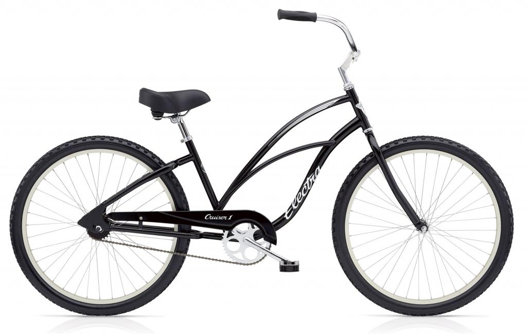 CRUISER1 Black  SINGLE-SPEED